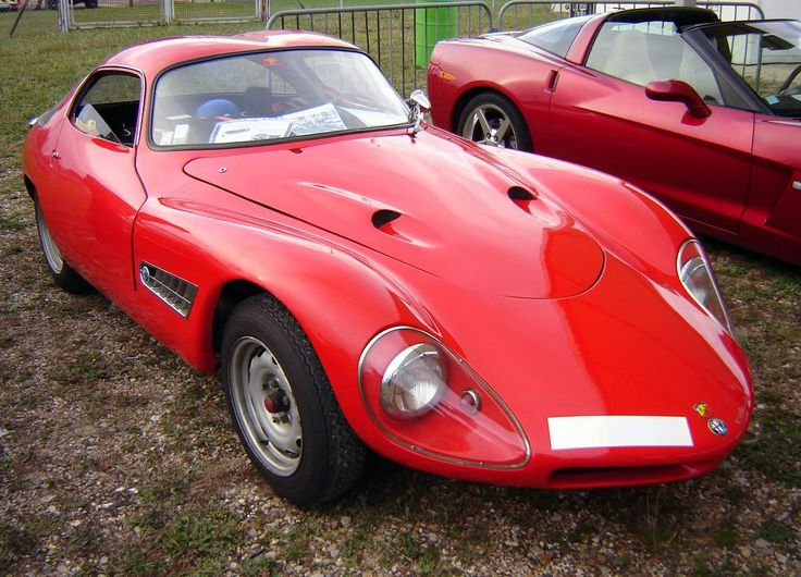 Road Sports Cars - 1959 Abarth Alfa Romeo 1300 Berlinetta (Colani), one of the rarest Abarths ever built which can also be said to be road useable.