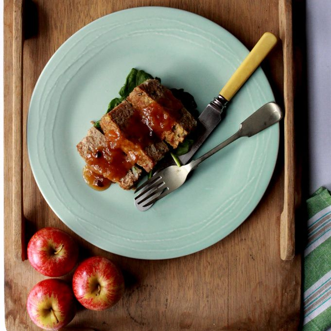 Turkey Loaf with Spiced Apple Chutney By Michelle Campbell #safood #beerenberg