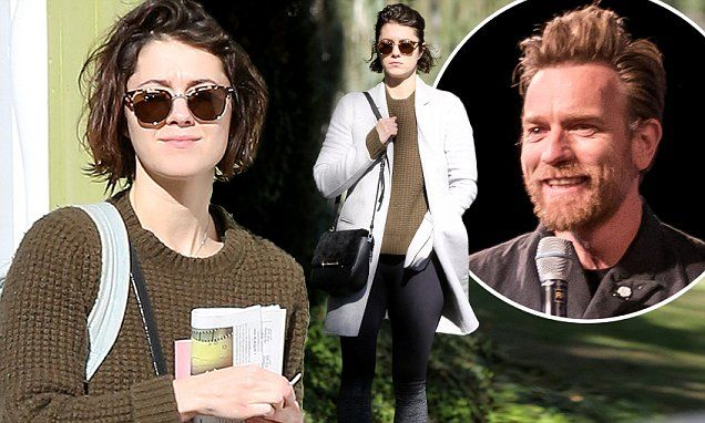Mary Elizabeth Winstead leaves Ewan McGregor's home