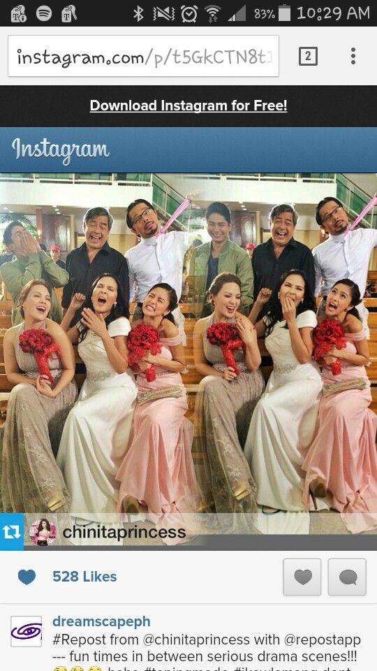 Ikaw Lamang wedding: funny behind the scenes moment. Coco Martin, Joel Torre, Christopher de Leon, KC Concepcion, Amy Austria-Ventura, Kim Chiu
