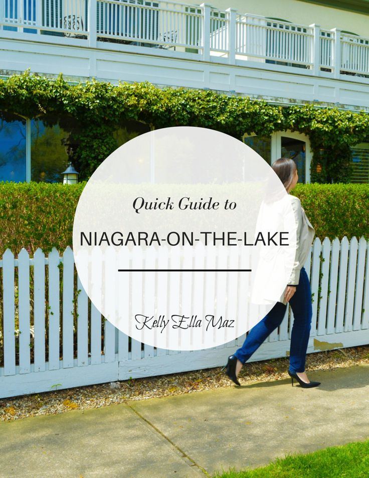 Kelly Ella Maz_Quick Guide to Niagara-On-The-Lake Cover