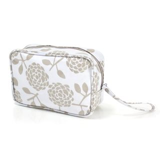 A great looking cosmetic bag to hold all your bits and pieces.  It's easy-clean and features an internal zipped pocket. Available in Oat or Navy.