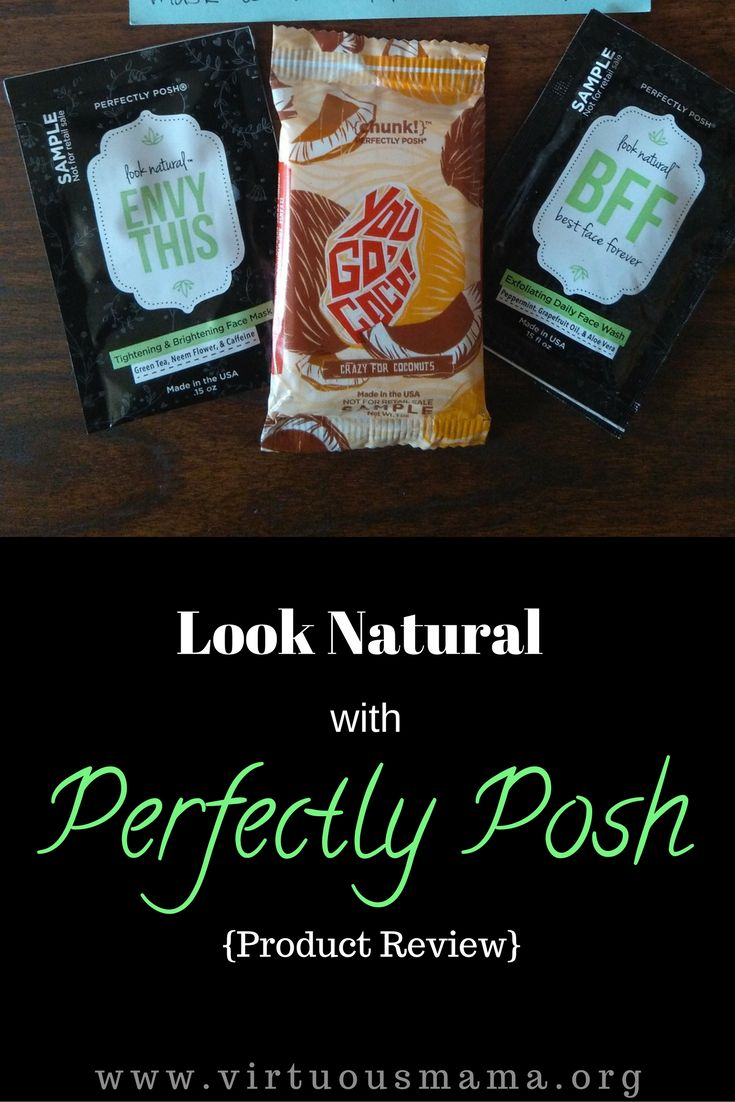 Perfectly Posh Product Review