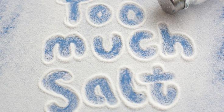 Kelebihan Garam Bisa Membuat Hipertensi