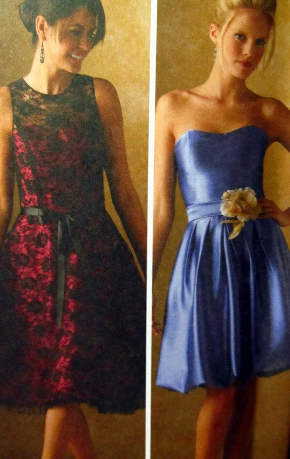 Chic Simple Short Wedding Dress/bridesmaids dress by LDORIGINALS, $250.00