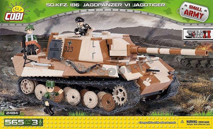 Sd.Kfz.186 Jagdpanzer VI Jagdtiger - ciężki niszczyciel czołgów
