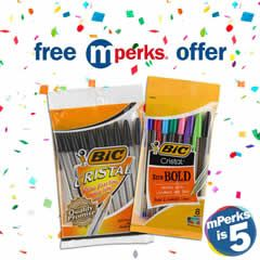 FREE Bic Cristal Pens at Meijer on http://www.icravefreebies.com/