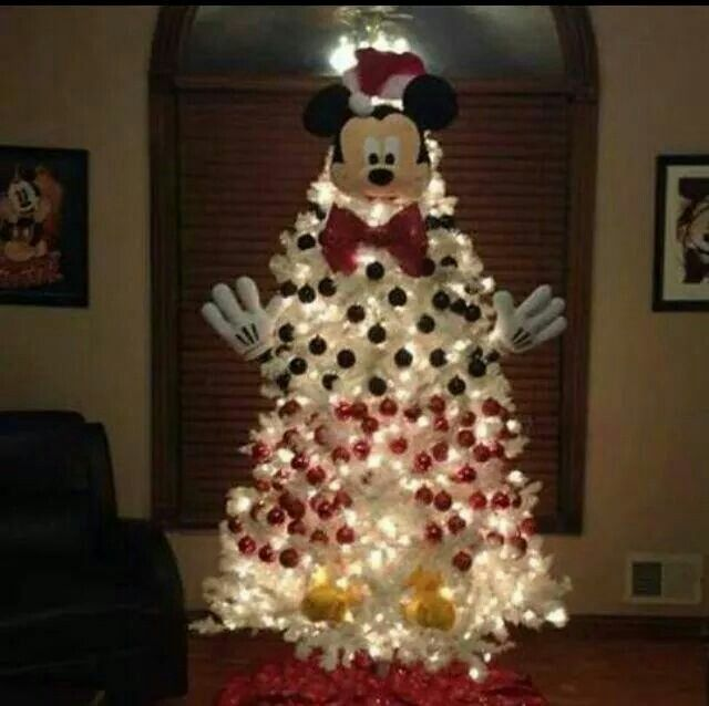 Mickey Mouse Christmas Tree Mickey Mouse Pinterest