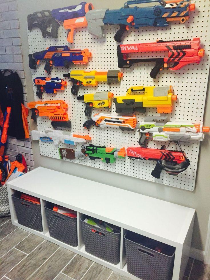 Einzigartige Spielzeug-Aufbewahrungsideen für Kinderspielzimmer, Schlafzimmer und kleines Wohnzimmer