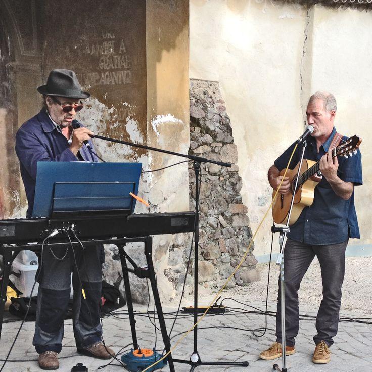 COMBOCOMBO (Giorgio Cappelletto & Benno Simma) al parco dei cappuccini di bolzano