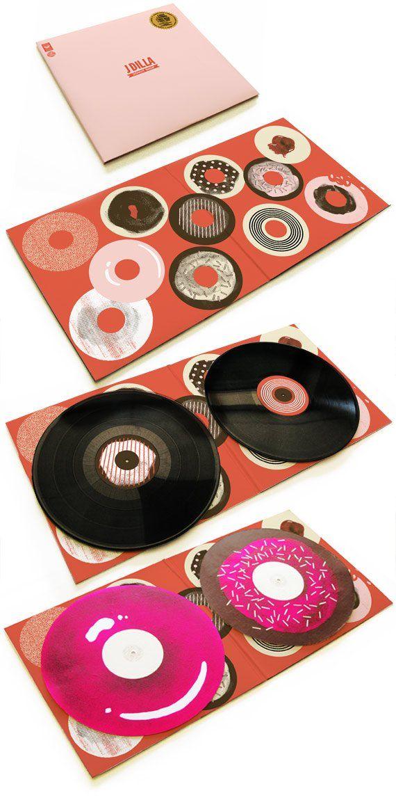 jdilla album package design