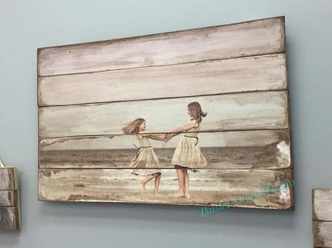 A custom photo pallet is an amazing way to display your favorite photos for your home in this rustic one of a kind display. High resolution images only. Each order is executed with the same attention