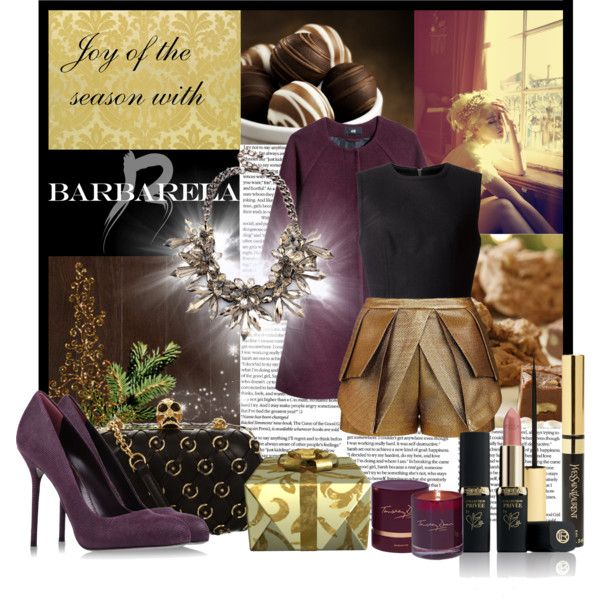 """Joy of the season with BARBARELA"" by gorica91 on Polyvore"