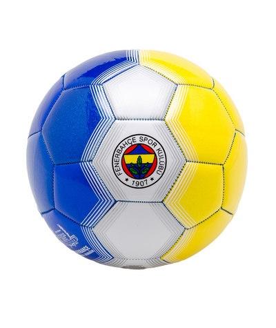 Fenerbahçe logolu, petek dokulu ve sarı ve lacivert renkte futbol topu. Orijinal lisanslı üründür. 5 numara yetişkin erkekler içindir.