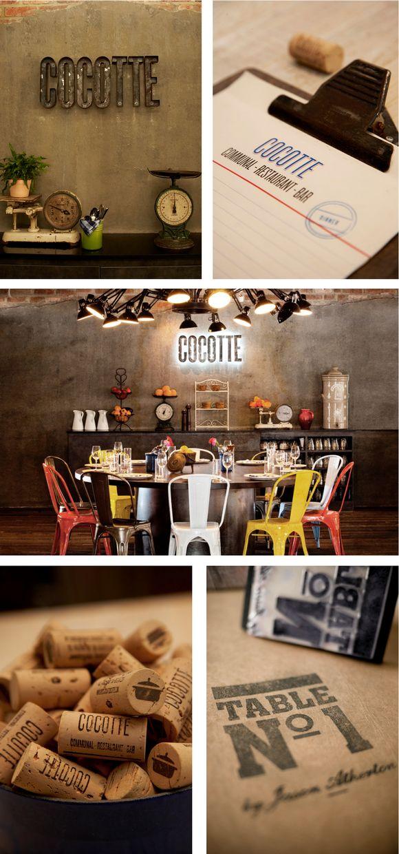 COCOTTE | #stationary #corporate #design #corporatedesign #identity #branding #marketing < repinned by www.BlickeDeeler.de | Visit our website: www.blickedeeler.de/leistungen/corporate-design