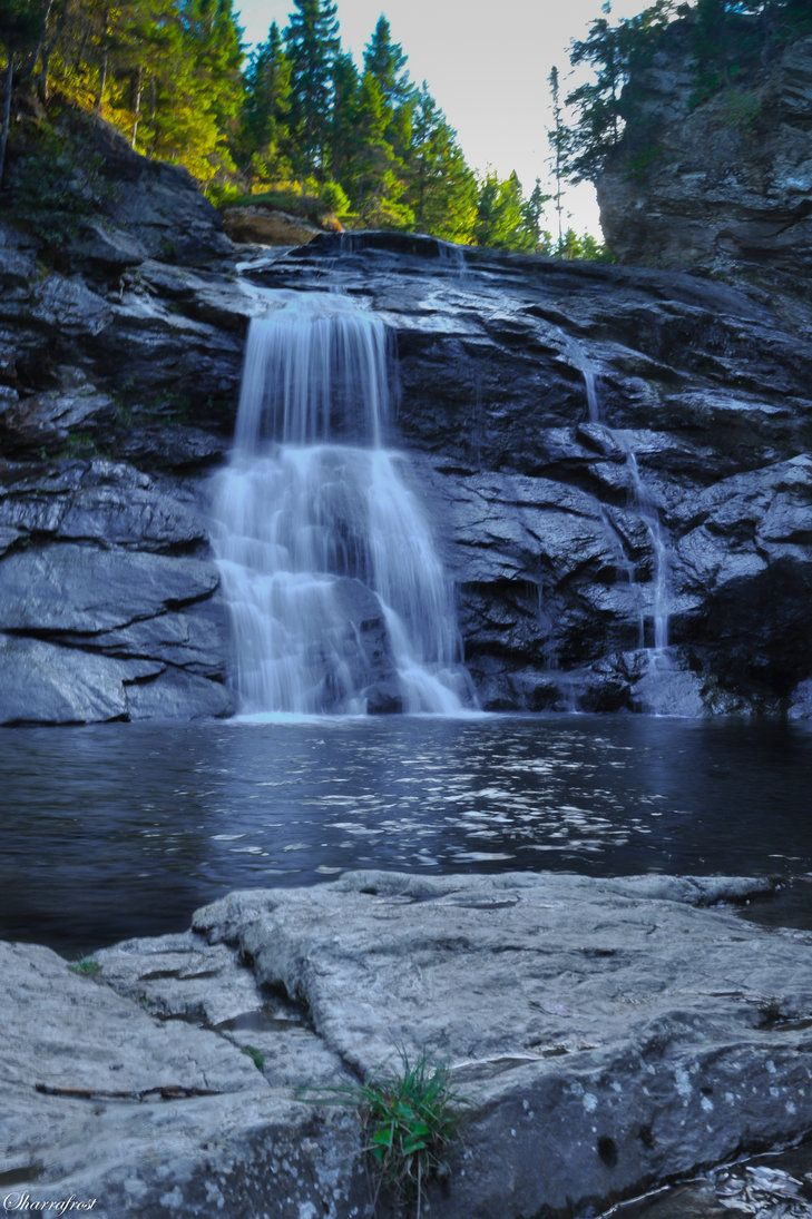 Laverty Falls 3 by =Brian-B-Photography on deviantART; Fundy National Park, New Brunswick, Canada