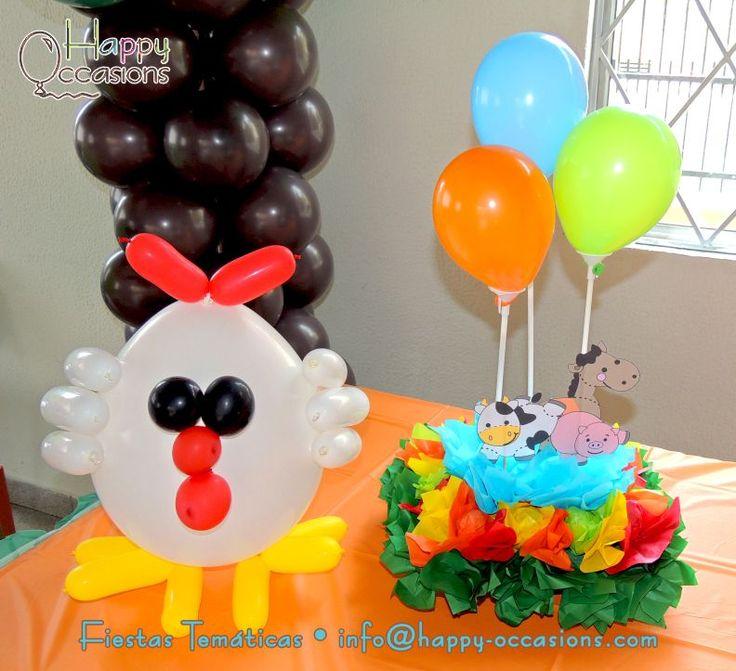 62 best images about cumplea os granja on pinterest - Decoracion fiesta cumpleanos ...