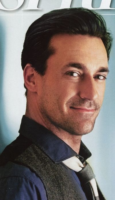 yesss! John Hamm is the TOTAL package  ;) if you know what I mean >>>>