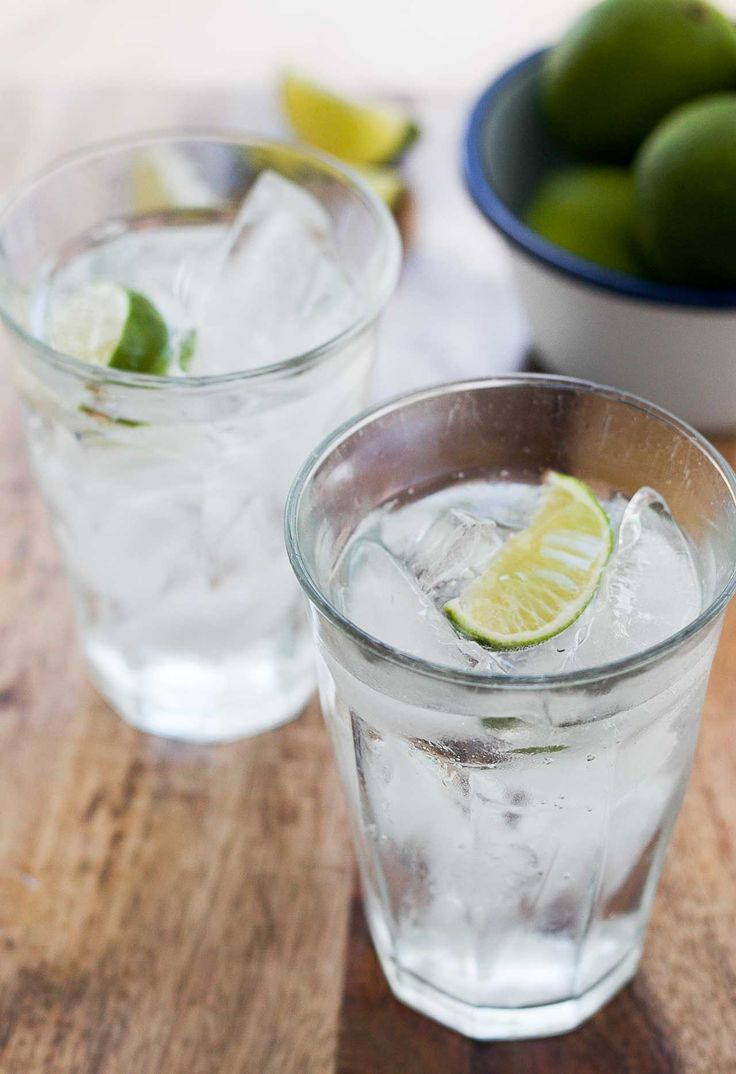 This classic Gin and Tonic recipe is the perfect summer drink with a wedge of lime and plenty of ice.