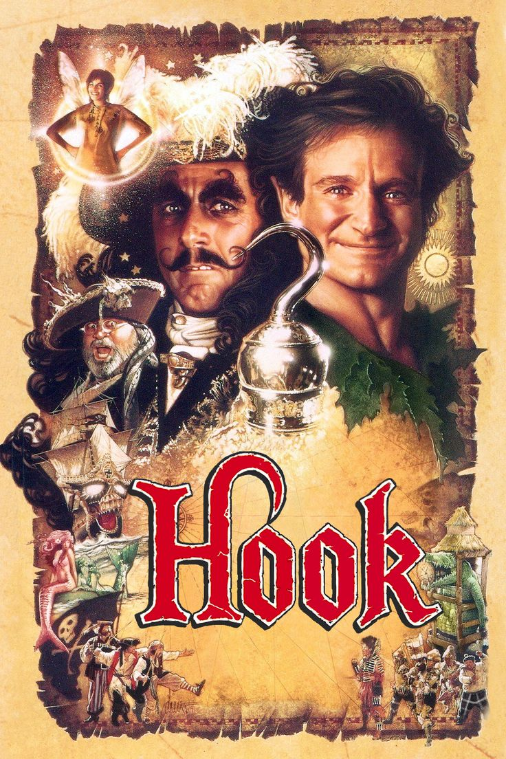 Hook (1991) Premiered 11 December 1991 | Movies I like ...