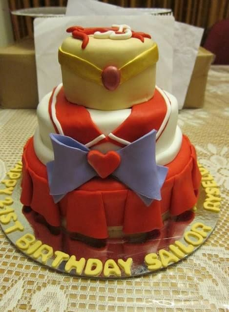 Sailor Moon Cake Ideas
