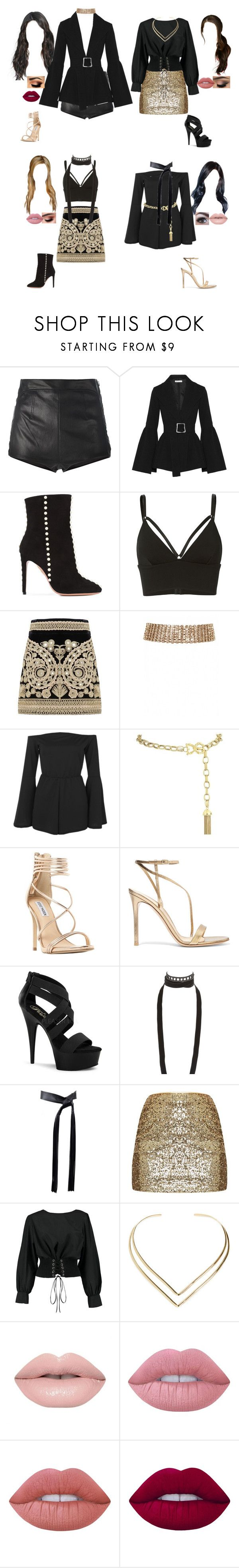 """""""Performing at Seoul Music Awards"""" by kel-bell-453 ❤ liked on Polyvore featuring La Perla, Rejina Pyo, Aquazzura, T By Alexander Wang, For Love & Lemons, Boohoo, Dolce&Gabbana, Steve Madden, Gianvito Rossi and Pleaser"""
