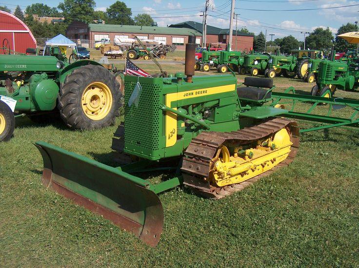 Antique Tractors In Ohio : Best images about antique john deere tractors on