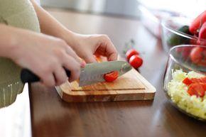Platos hechos con alimentos ricos en ácido fólico o vitamina B9, especialmente pensadas para embarazadas.