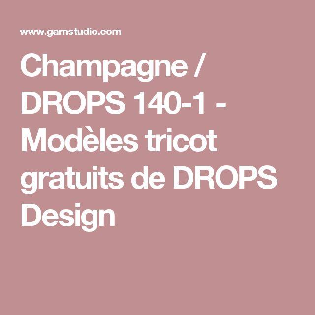 Champagne / DROPS 140-1 - Modèles tricot gratuits de DROPS Design