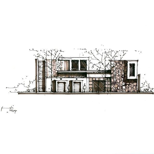 10 Spectacular Home Design Architectural Drawing Ideas In 2020 Architecture Sketch Architecture Design Sketch Architecture Sketchbook
