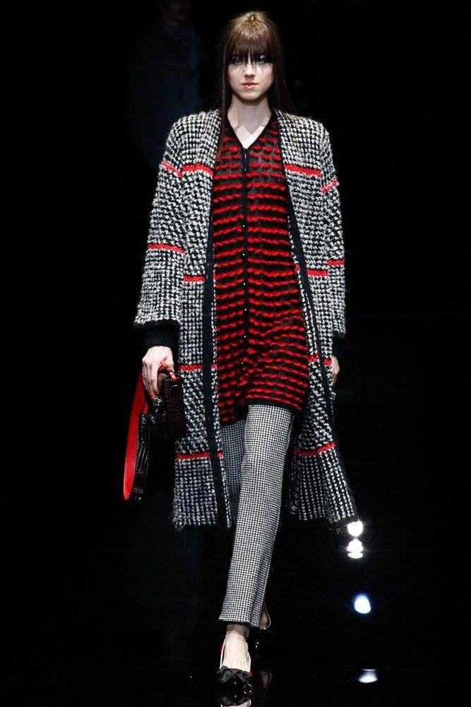 Emporio Armani Fall 2017 Ready-to-Wear Collection Photos - Vogue