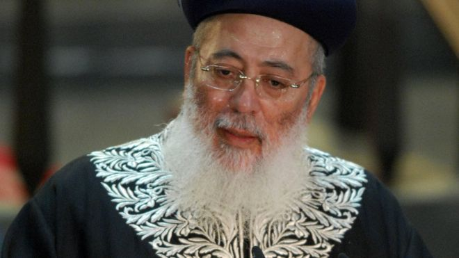 """Israeli political and community leaders have called for a top Jerusalem rabbi to be fired after he said Jewish law prescribed the death penalty for gays.  Sephardi Chief Rabbi Shlomo Amar told Israel Hayom newspaper homosexuality was a """"cult of abomination"""", which the Torah """"punishes... with death""""."""