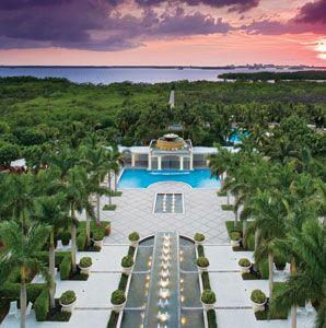 Relax at the Hyatt Regency Coconut Point Resort and Spa in Bonita Springs, Florida.