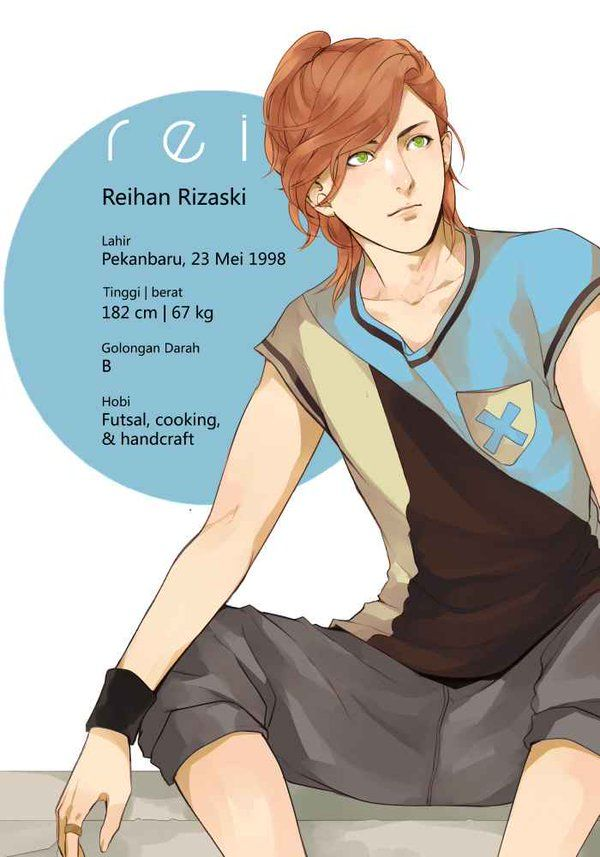 Rei's profile | 304th Study Room by Felicia Huang