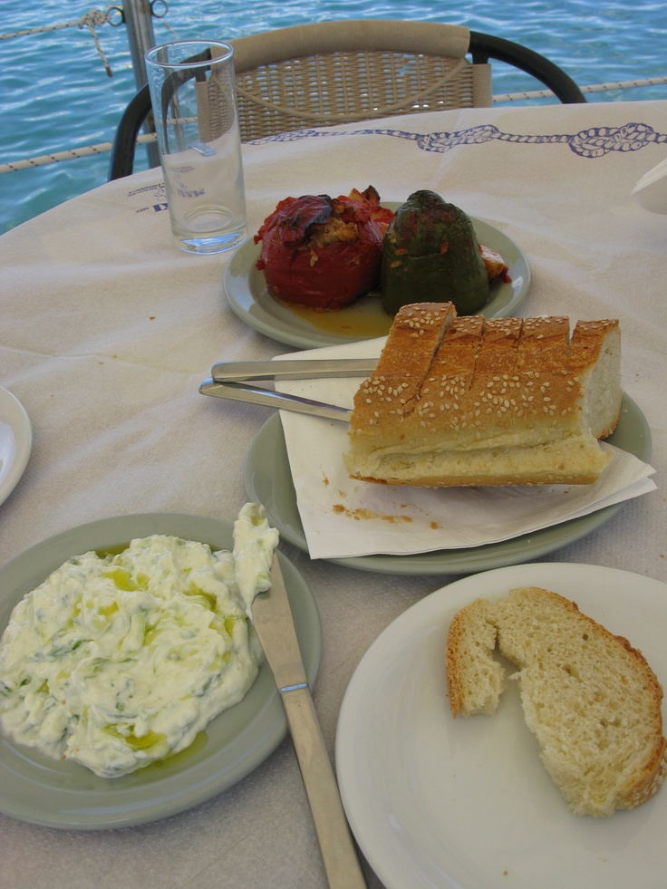 MMMMM...lovely Greek food :)