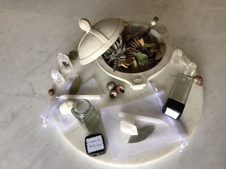 Witches Incense Cleansing Kit (With images) | Skull candle ...