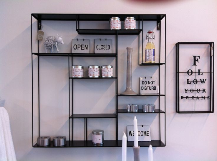 Beautiful metal shelf, Bruka Design, Sweden