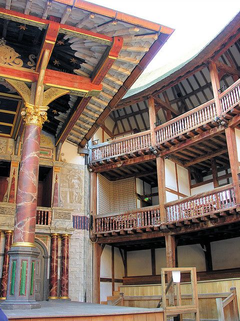 Shakespeare's Globe Theatre ~ South Bank, London, England excellent tour by Cannice Bannon