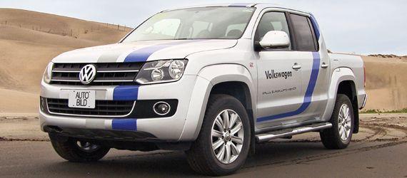 Volkswagen Amarok TDI #AutoBildMexico #autos #pruebas