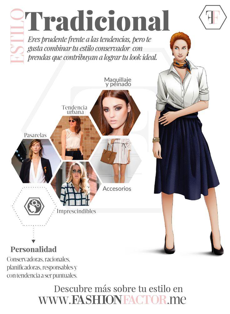 ¿Sabias que las mujeres de Estilo Tradicional pueden jugar al antojo con la moda sin perder su estilo? En fashionfactor.me te ofrecemos muchas ideas para que combines en tu cuerpo las distintas tendencias de esta temporada.