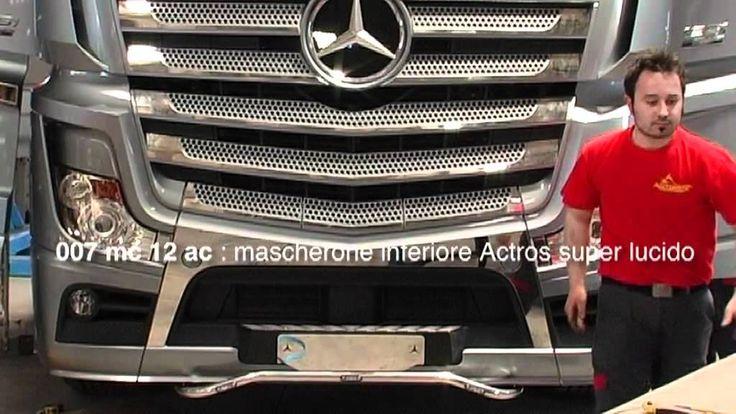 Mercedes Actros 2012: Acitoinox presenta la nuova linea accessori  #mercedes #acitoinox #truck
