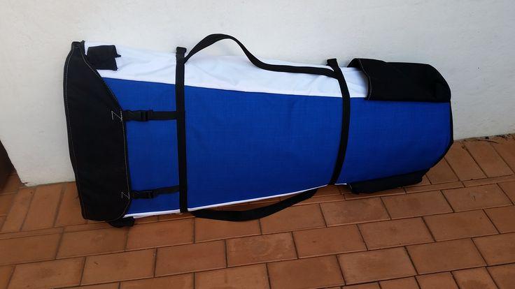 Half a Switchblade Kayak in a bag