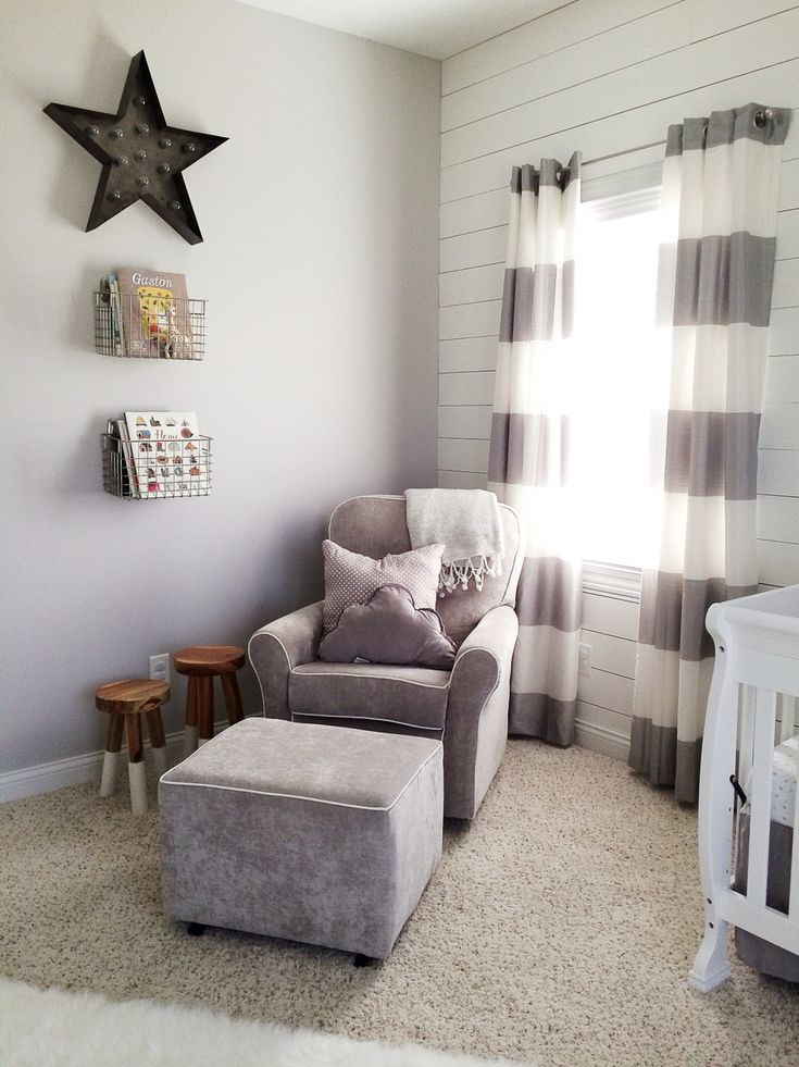 Shiplap grey boy/gender neutral nursery