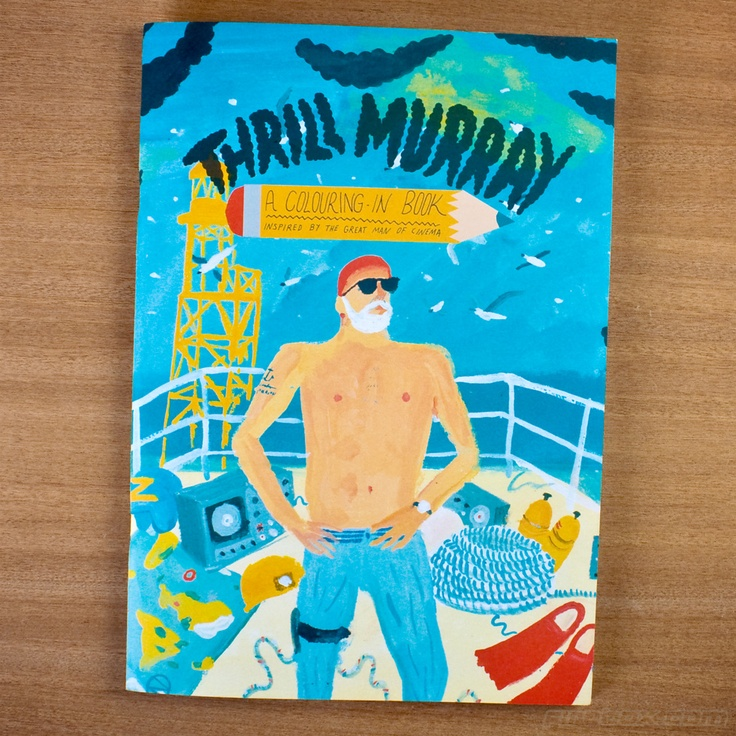 Perfect Thrill Murray Coloring Book 37 Thrill Murray colouring book