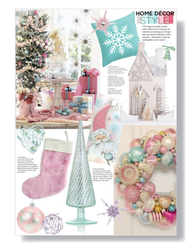"""Holiday Sparkle"" by mmk2k ❤ liked on Polyvore featuring interior, interiors, interior design, home, home decor, interior decorating, Cody Foster & Co., K&K Interiors, HolidayParty and deckthehalls"