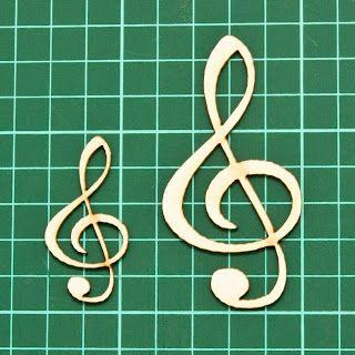 CrazyLaser: Чипборды на музыкальную тему