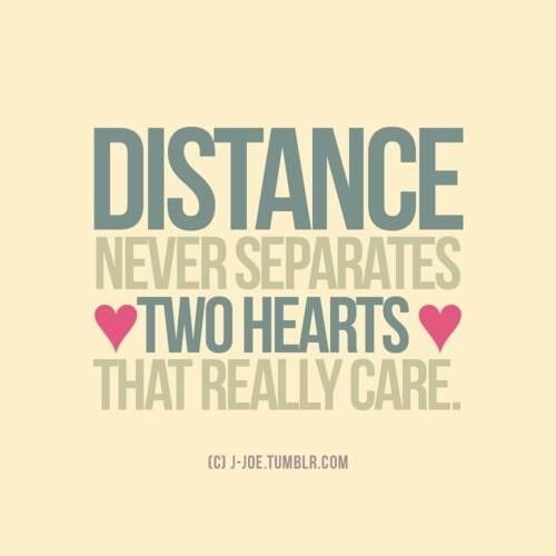 Distant Relationship Quotes: Love At Long Distance Quote