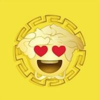 Versace spreads the love with branded emoji creator