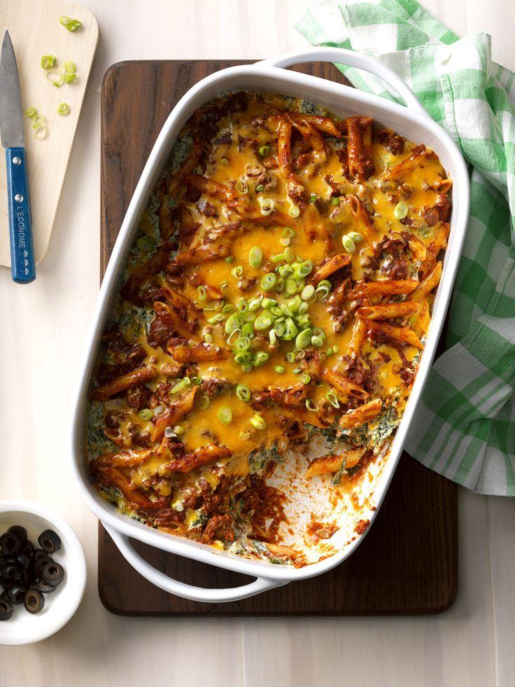 Southwest Pasta Bake Recipe from Taste of Home