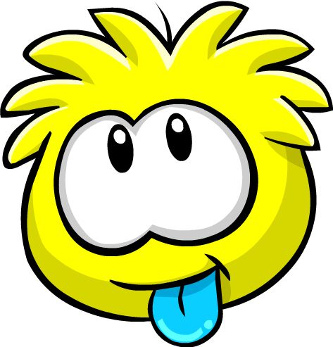 The yellow puffle is an artist and can be bought from the pet store for members only.